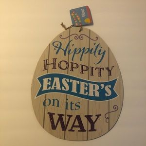 Easter Sign Decor